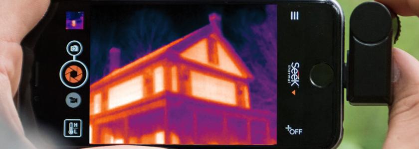 Тепловизоры Seek Thermal – узнай, как выглядит тепло