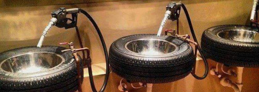 Вторая жизнь, или как старые автомобильные диски пустить в дело