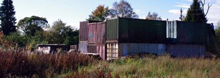 Дом из морских контейнеров как решение квартирного вопроса