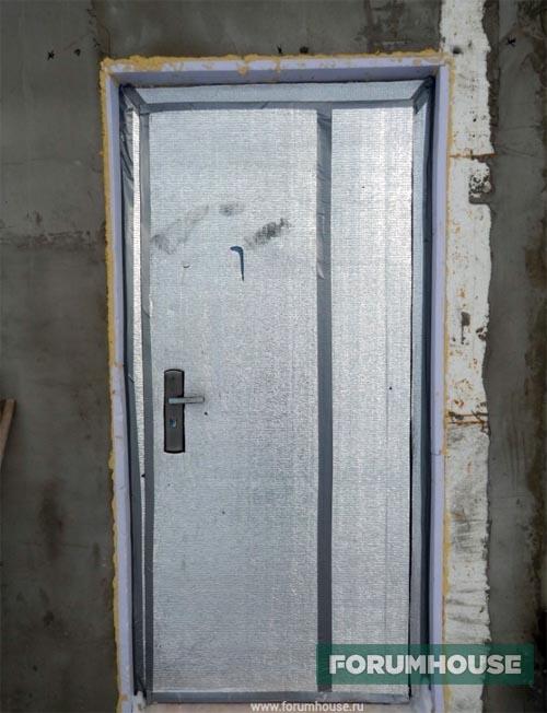 Коммуникации и черновая отделка в сборно-монолитном доме из самодельных панелей
