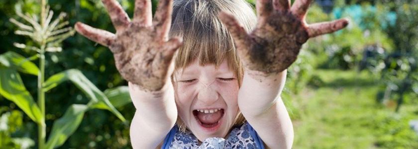 Садоводство делает детей счастливыми