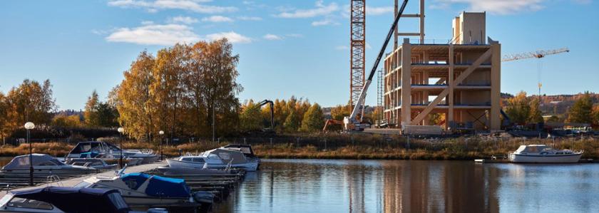 Деревянный «небоскрёб» по-норвежски