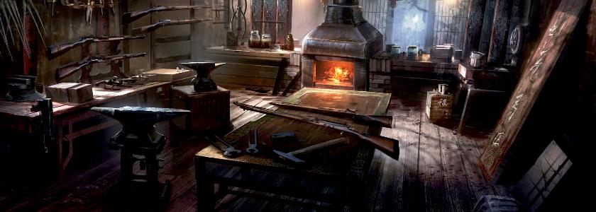 Переделка старинной кузницы в современные апартаменты
