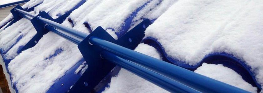 Что вам известно о снегозадержателях?