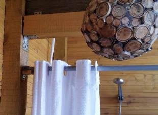 Летний душ для тела и души – конструкции участников портала