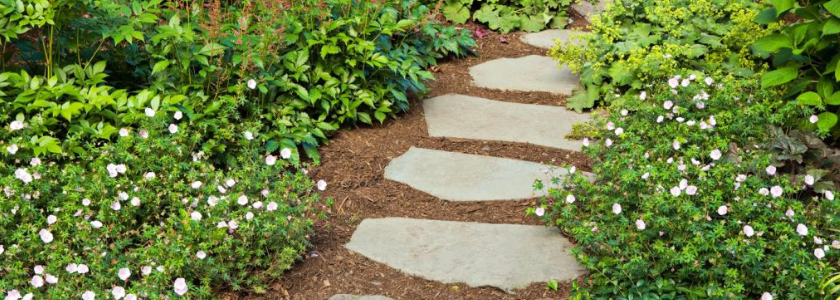 Как сделать основание для садовой дорожки