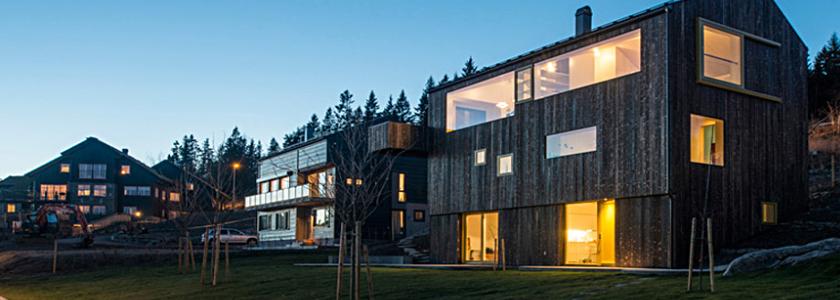 Дом по-норвежски: экстерьер и интерьер