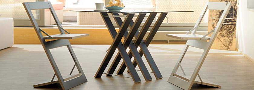 Складная дизайнерская мебель – удобный и изящный минимализм