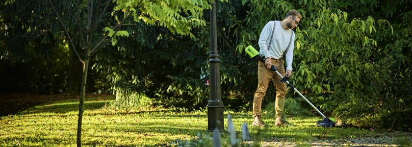 Как правильно выбрать аккумуляторную садовую технику