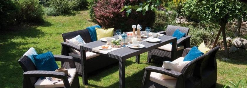 В саду, как в гостиной – обзор продуктов для обустройства зоны отдыха