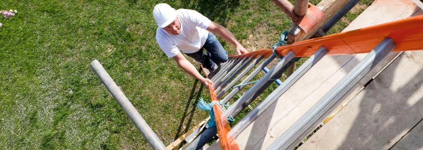 Особенности выбора и эксплуатации алюминиевых лестниц