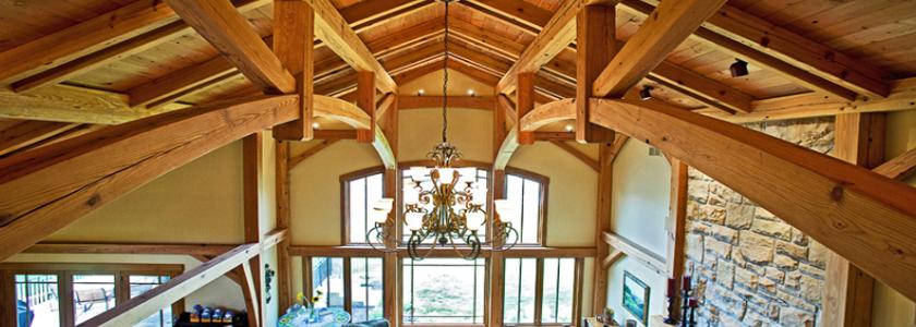 Брусовый каркас – североамериканский Timber Frame в наших реалиях