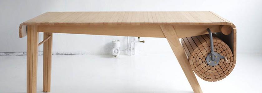 Столы-трансформеры – подборка интересных идей