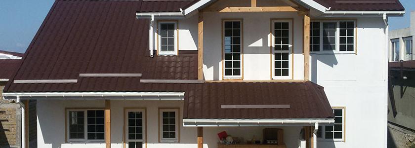 Бюджетная отделка дома из СИП-панелей и фасада из ОSB