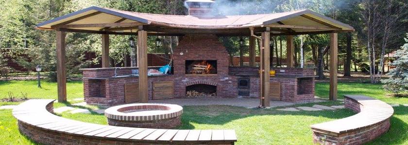 Отдыхаем с огоньком – продукты для обустройства зоны барбекю