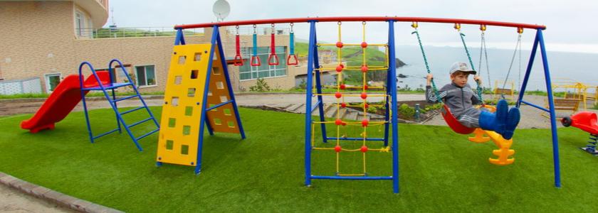 Новинки рынка для строительства оригинальной и функциональной детской площадки