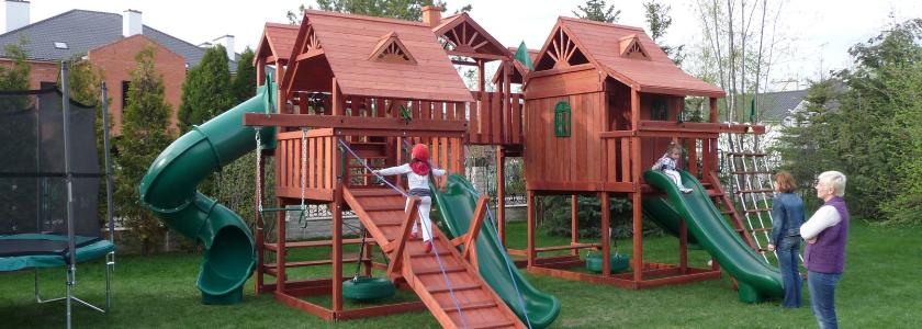 Детские площадки своими руками. Опыт портала