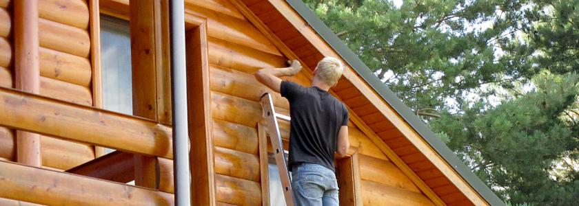 Проникающая лазурь-пропитка для наружной окраски древесины – простой способ защиты