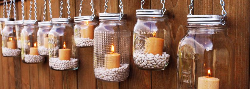 Приглашаем праздник в дом: необычные светильники своими руками