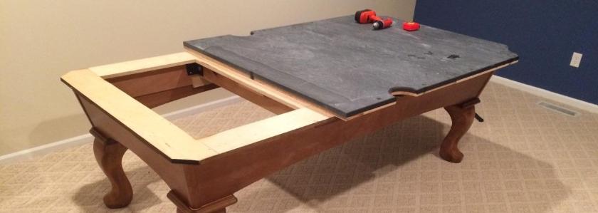 Бильярдный стол для дачи своими руками