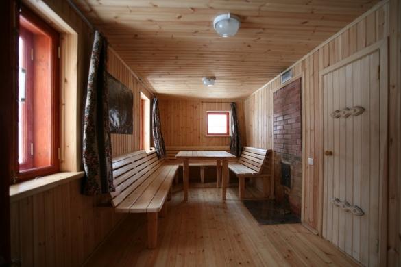 Фото комната отдыха с мебелью в бане