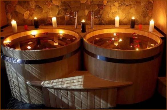 Фото японская баня фурако