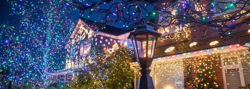 Новогодняя подсветка дома: схемы, лайфхаки, устройства и украшения