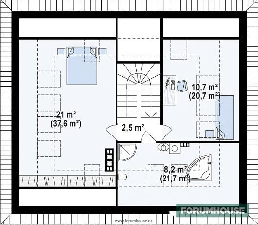 Фото планировка мансардного этажа капитального дома