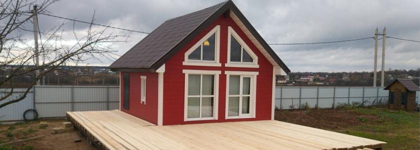 Бюджетный и красивый домик с антресолью и вторым светом: фотоотчет
