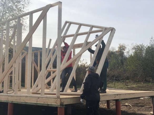 возведение каркасного дома в Орехово-Зуево
