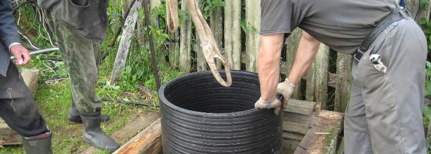 Материалы для ремонта, углубления и гидроизоляции питьевых колодцев и септиков