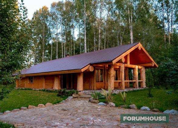 Фото красивый дом пост энд бим участника портала