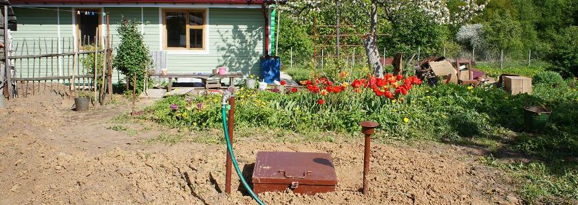Водоснабжение на участке: от поиска воды до насосных станций