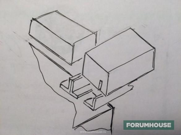 Фото подробный чертеж установки уголков