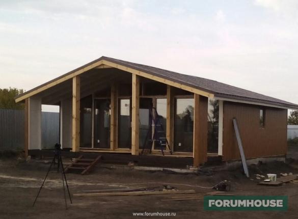 Фото сборка модульного дома