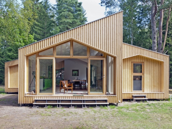 Фото большой модульный дом