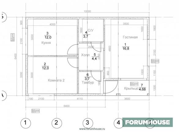 Фото планировка модульного дома
