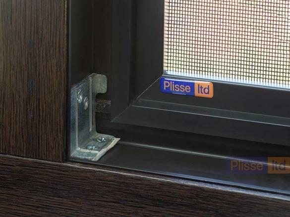 Фото внутренняя сетка Плиссе