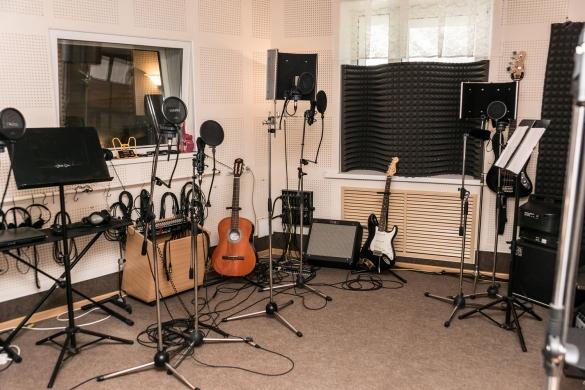 Фото студия звукозаписи