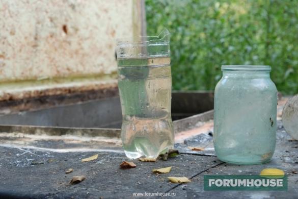 Фото прозрачная жидкость из распредколодца