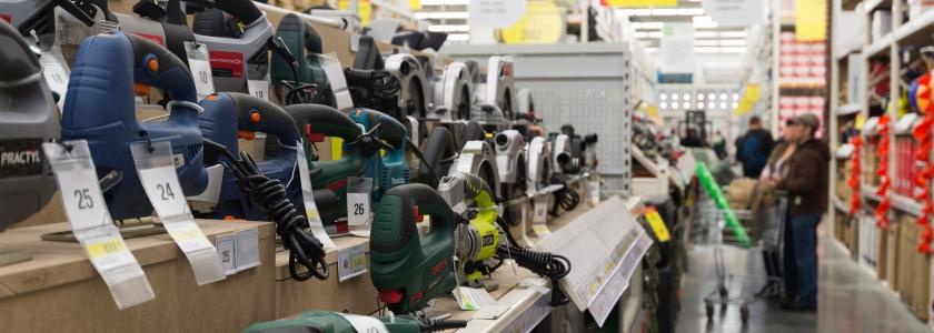 «Леруа Мерлен» обновляет ассортимент ручного электроинструмента