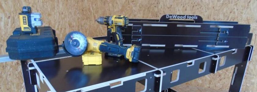 Монтажные верстаки DeWood Tools – современный подход к работе