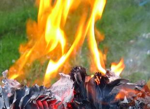 Огонь на участке - сможешь ли ты все сделать правильно?