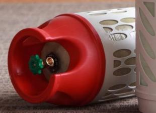 Конструктив композитных газовых баллонов, сервисное обслуживание, хранение, заправка