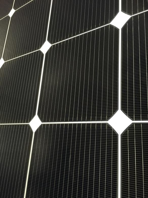 Фото солнечная панель крупным планом