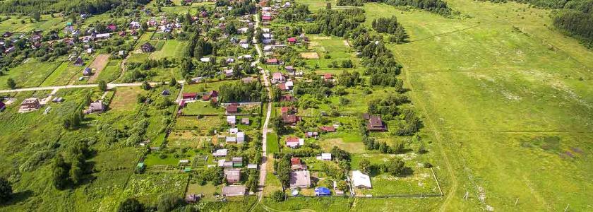 Дачные поселки смогут получить статус населенных пунктов