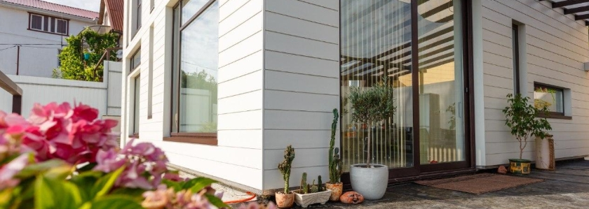 Фиброцементный фасад - долгоиграющая красота