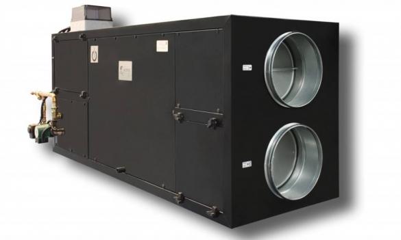 Фото комплексная установка вентилирования и отопления для бассейна