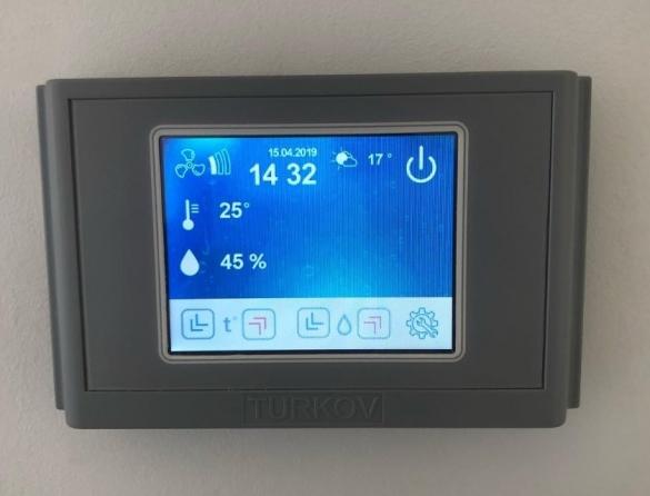 Фото блок управления системой климатизации