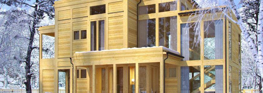 Путин поручил-2. Ипотеку распространят на строительство деревянных домов
